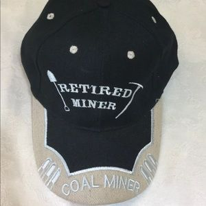 Coal Miner Retired Miner Hat